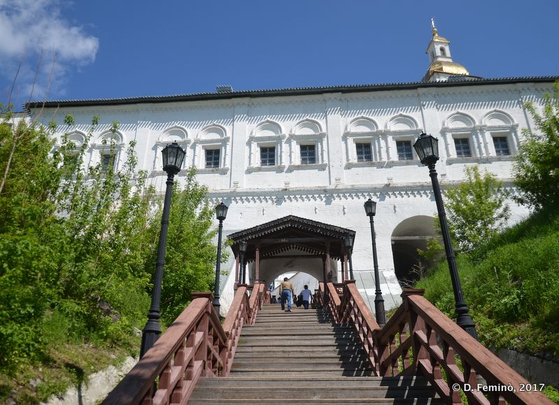 Stairs to the Kremlin (Tobolsk, Russia, 2017)