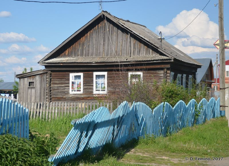 Wooden house (Abalak, Russia, 2017)