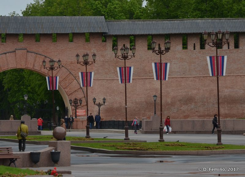 Walls of the Kremlin (Novgorod, Russia, 2017)