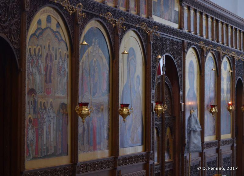 St George's Monastery interiors (Novgorod, Russia, 2017)