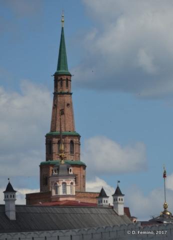 Söyembikä Tower (Kazan, Russia, 2017)