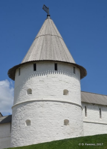 A Kremlin tower (Kazan, Russia, 2017)