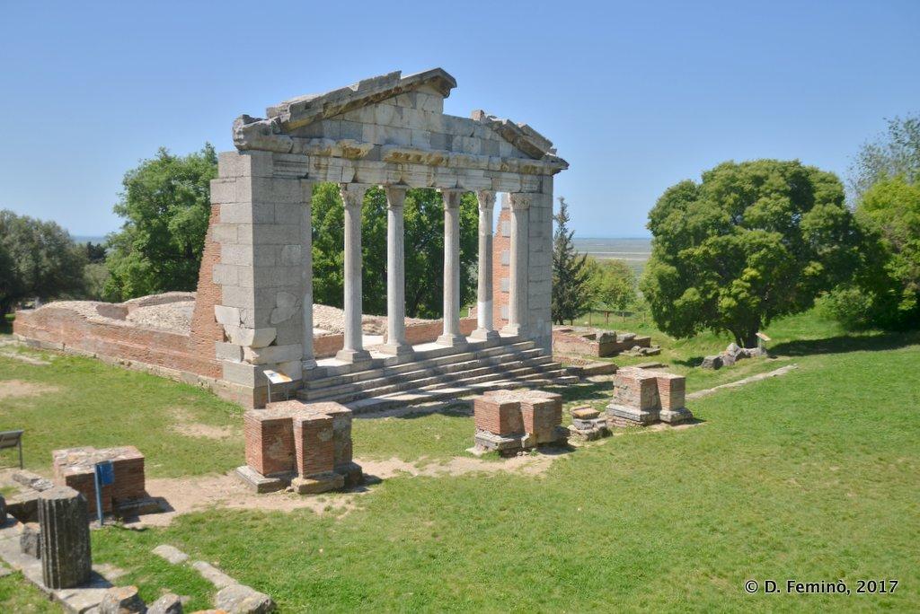 Apollonia, Monument of Agonothetes