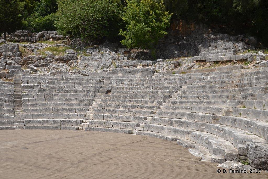 Butrint, Ancient Theatre