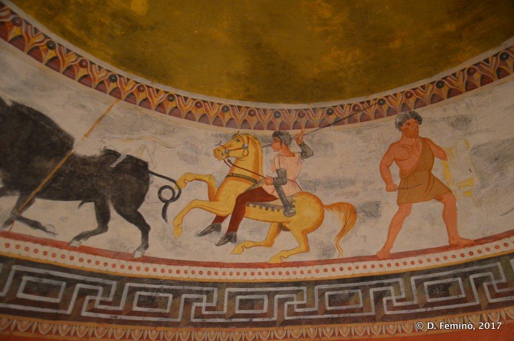 Alexandrovo, Bulgaria, Thracian Tomb frescos