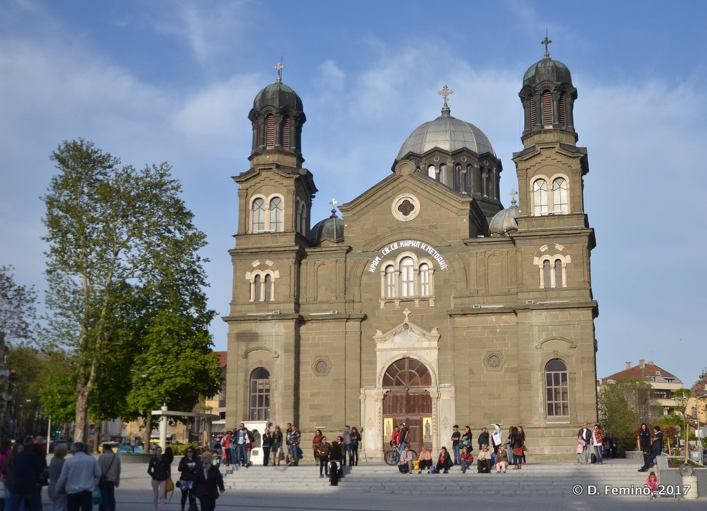 Burgas, Bulgaria, Cathedral of Saint Cyril and Methodius