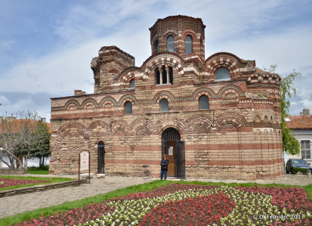 Nesebar, Bulgaria, Church of Christ Pantocrator
