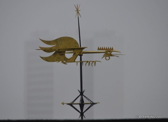 Dragon-shaped vane (Tallinn, Estonia, 2017)