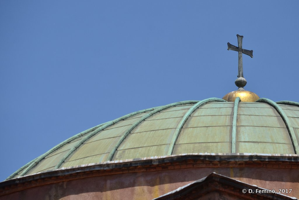 Thessaloniki, Greece, Church's dome