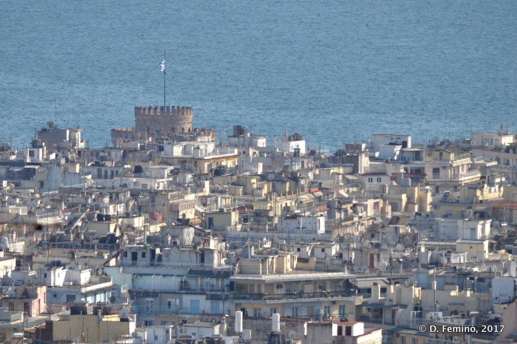 Thessaloniki, Greece, Panorama of the town