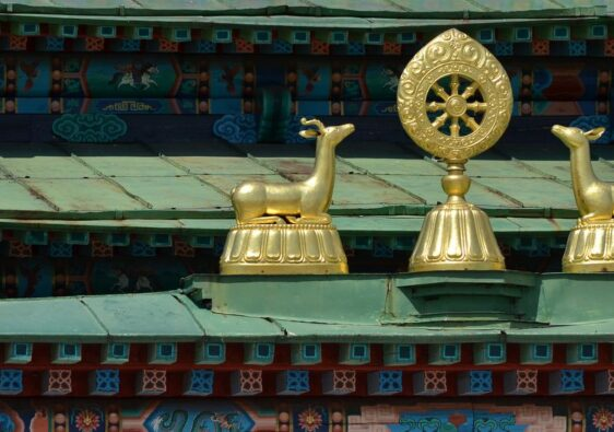 Detail of a temple in Ulan Ude