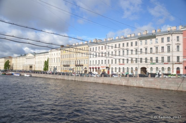 Fontanka river (Saint Petersburg, Russia, 2017)