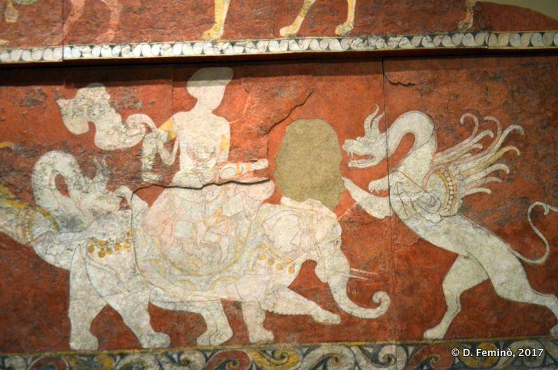 Fresco from Penjikent