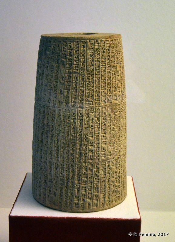 Sumerian Cuneiform Writing