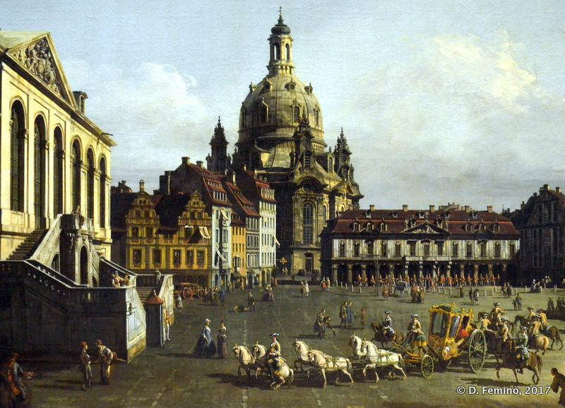 View of Dresda by B.Bellotto