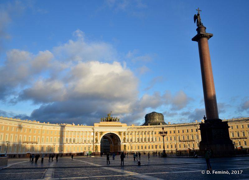 Palace Square (Saint Petersburg, Russia, 2017)