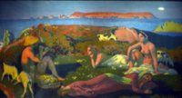 Maurice Denis, The Green Beach at Perros-Guirec