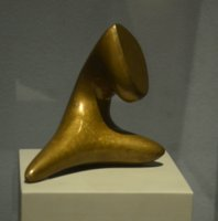 Man as seen by a flower by Hans Arp