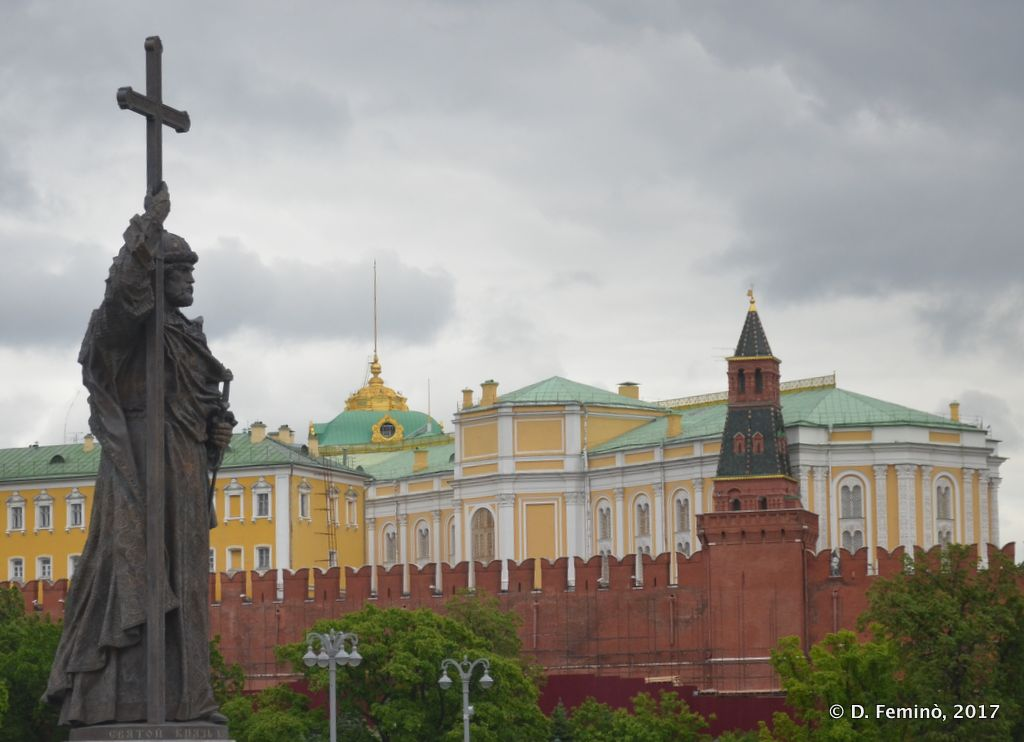 Walls of the Kremlin (Moscow, Russia, 2017)