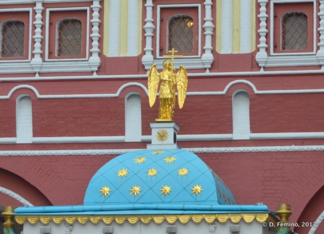 Iverskaya chapel (Moscow, Russia, 2017)