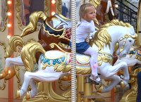 Carousel in Moscow
