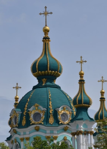 Saint Andrew's Church (Kiev, Ukraine, 2017)
