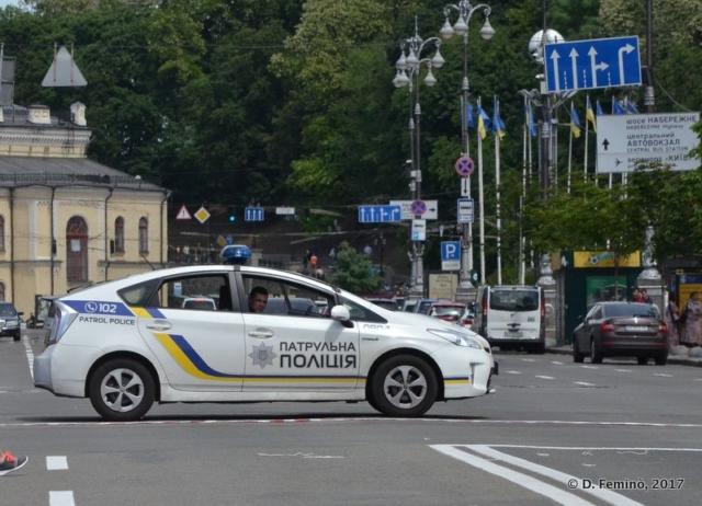 Police car (Kiev, Ukraine, 2017)