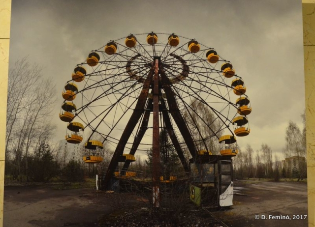 A picture of Prypiat at Chernobyl museum (Kiev, Ukraine, 2017)