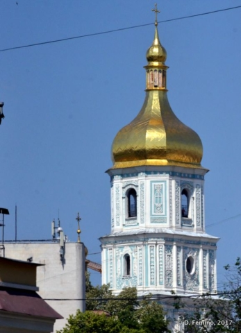 Bell tower (Kiev, Ukraine, 2017)