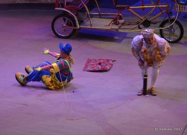 Clowns (Circus, Tyumen, Russia, 2017)