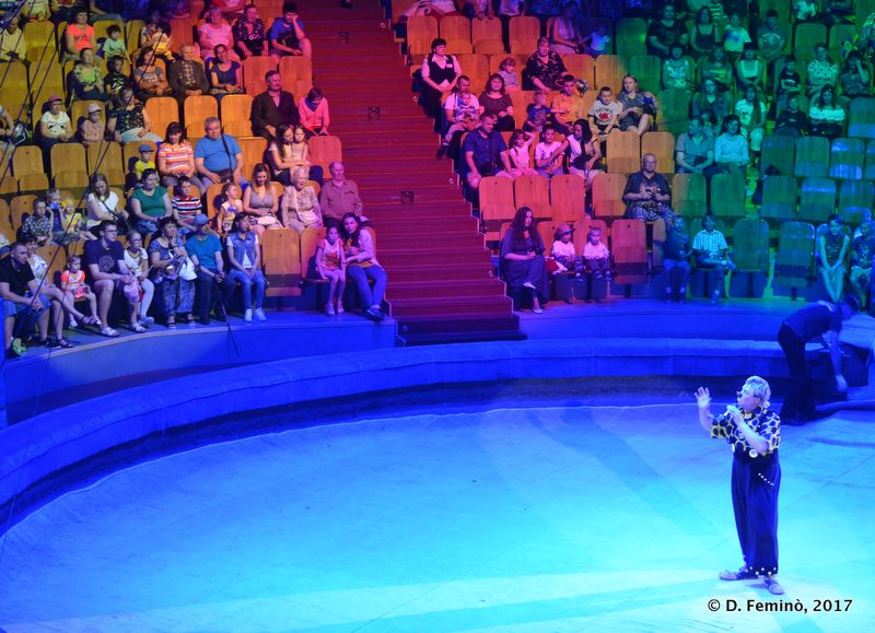 Amusing the crowd (Circus, Tyumen, Russia, 2017)
