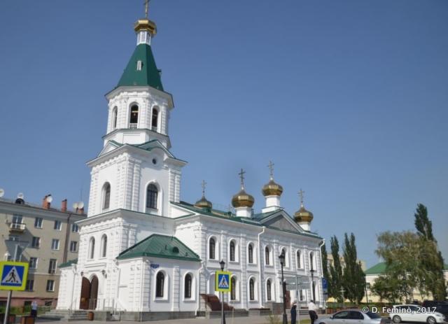 Tarskaya church (Omsk, Russia, 2017)