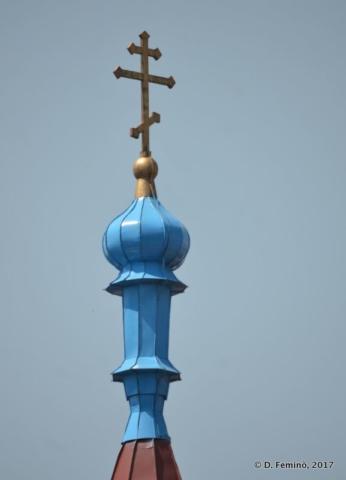 Thin dome of a church (Novosibirsk, Russia, 2017)