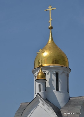 Chapel of Saint Nicholas (Novosibirsk, Russia, 2017)
