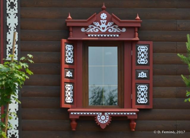 Wooden window (Irkutsk, Russia, 2017)