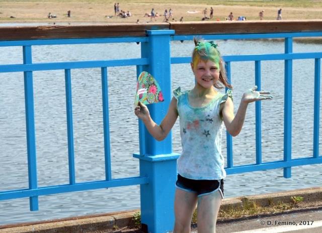 Girl during Youth Day (Irkutsk, Russia, 2017)
