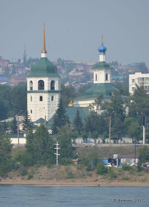 Znamensky monastery (Irkutsk, Russia, 2017)