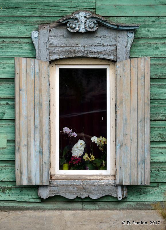 Another old window (Irkutsk, Russia, 2017)