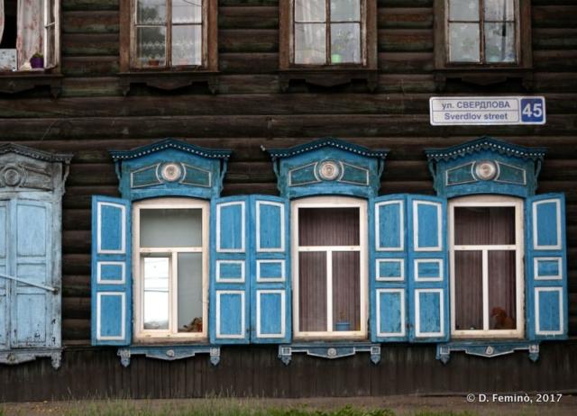 Nice wooden house (Irkutsk, Russia, 2017)