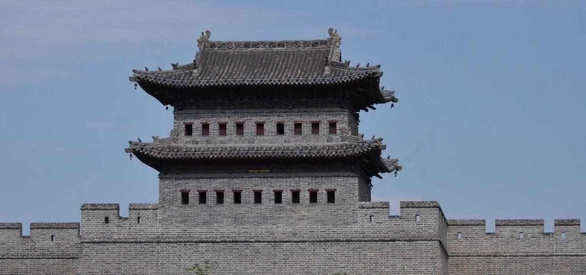 Datong new walls