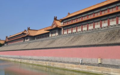 Walls of forbidden city