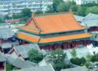 Dabei temple from Tianjin Eye
