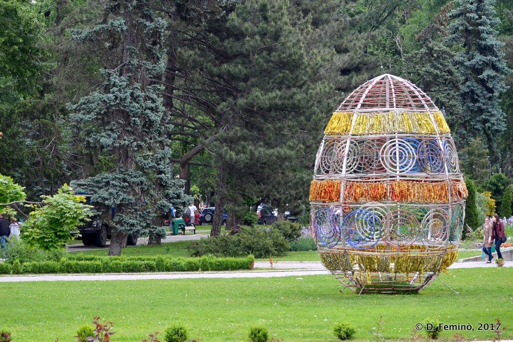 Chișinau, Moldova, A late Easter Egg