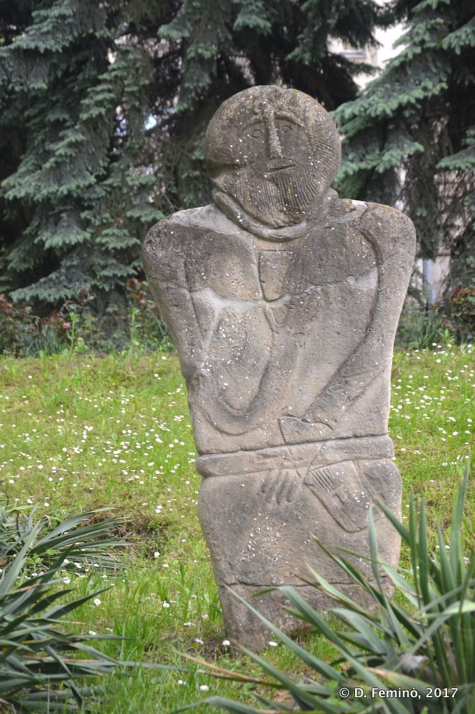 Chișinau, Moldova, Antropomorphic Stele