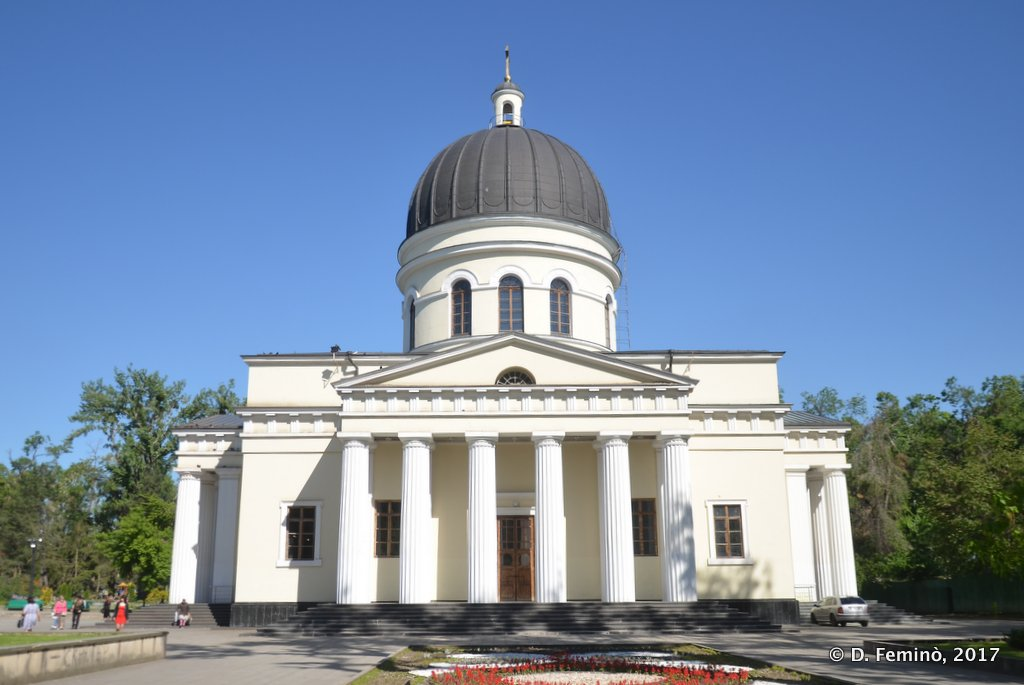 "Chișinau, Moldova, The Metropolitan Cathedral ""Nativity of the Lord"""