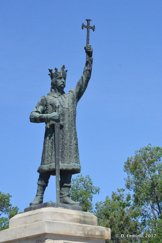Chișinau, Moldova, Monument to Ștefan cel Mare
