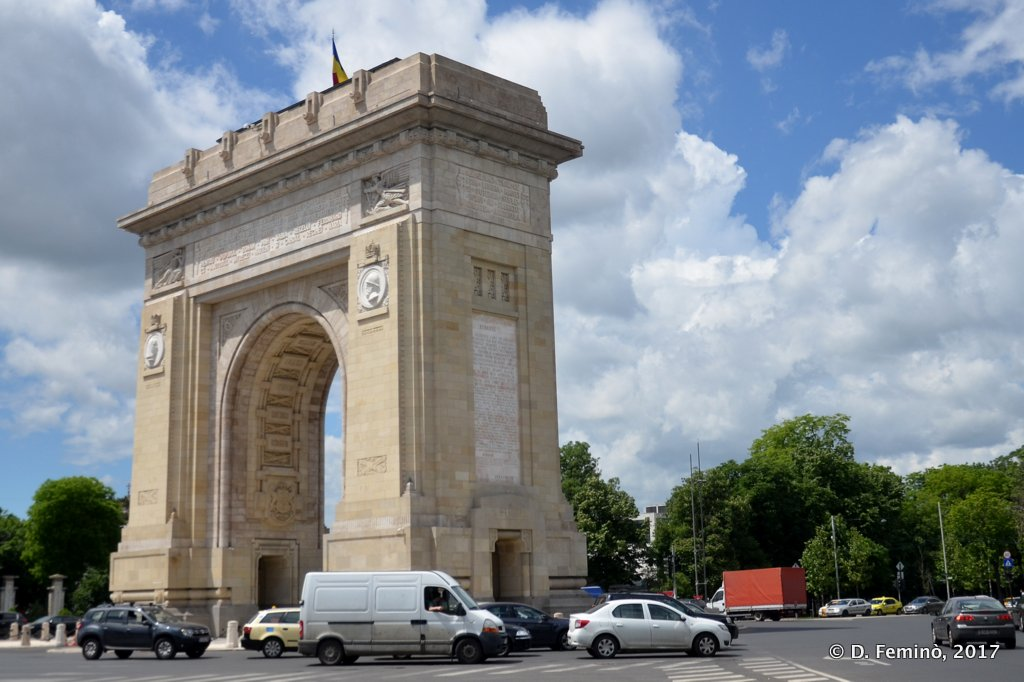 Bucharest, Arc de triomf
