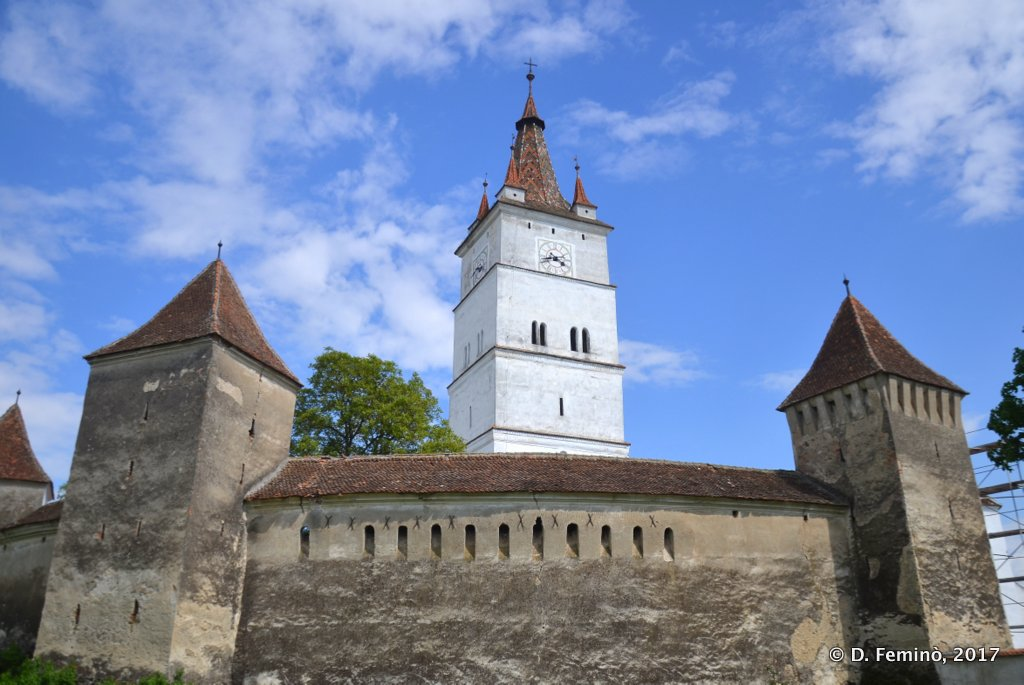 Hărman, the fortified church