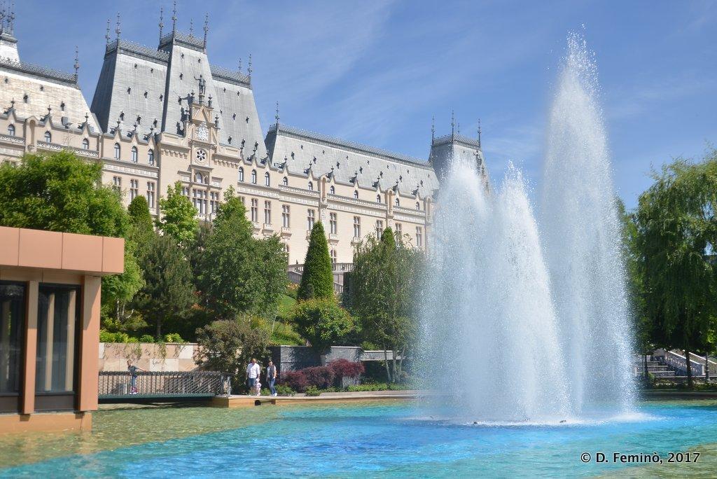 Iași, palace of culture