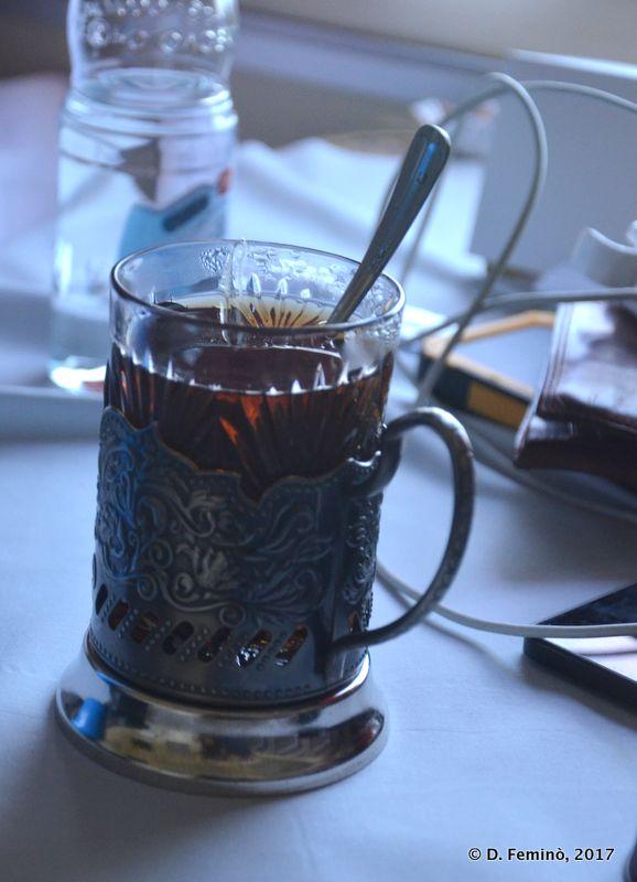 The Trans-Siberian tea cup